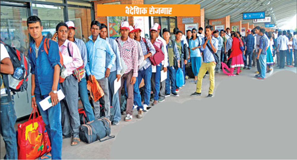 वार्षिक ५ लाख नयाँ युवा रोजगारीको खोजीमा, आन्तरिक बजारमा श्रमिकको अभाव