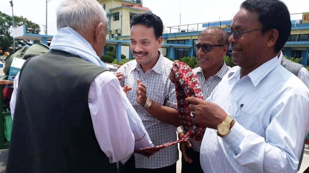 अर्धभूमिगत कम्युनिष्ट नेता नेपालगन्जमा, भन्छन्, 'कम्युनिष्टहरु एक ठाउँमा आउनुपर्छ'