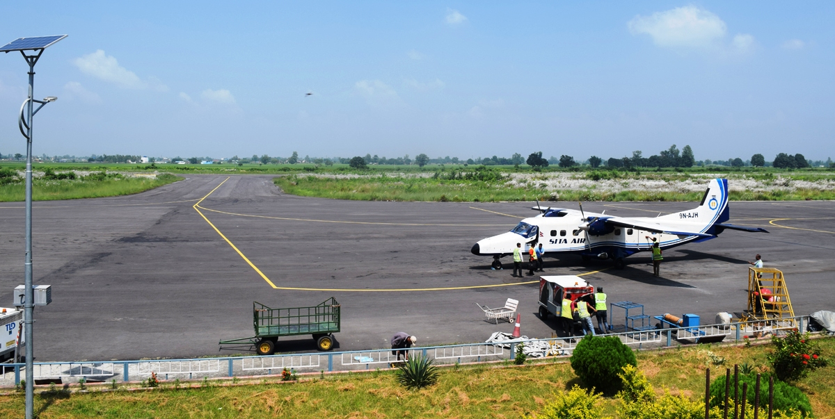 फेरिँदै 'नेपालगन्ज विमानस्थल'