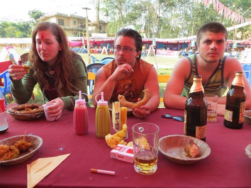 Food festival at Sauraha