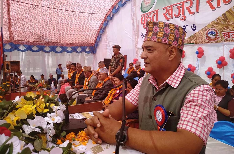 मुख्यमन्त्री उपस्थित कार्यक्रममै नेपालगन्जका मेयरको चेतावनी, 'बुटवल राजधानी सह्य हुँदैन'