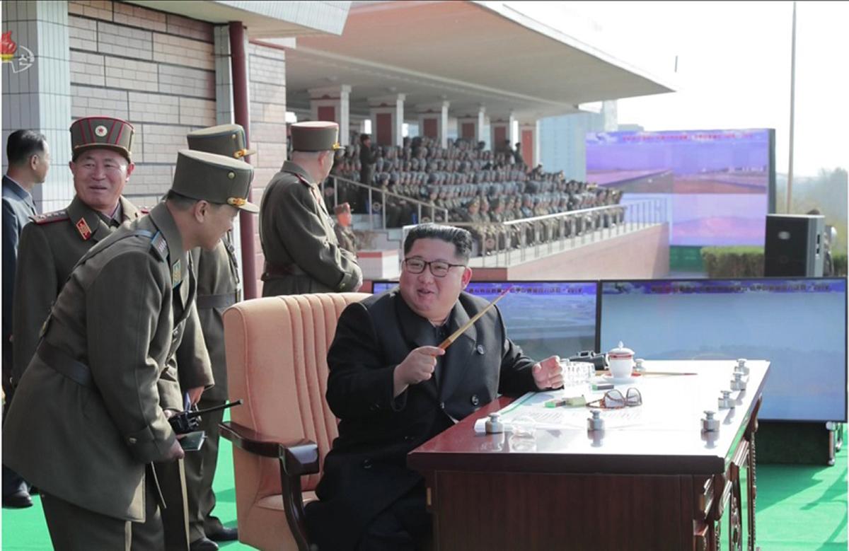 ट्रम्पले 'चाँडै भेटौंला' भन्दै ट्वीट गरेलगत्तै उत्तर कोरियाले सैन्य अभ्यासको तस्विर सार्वजनिक गरेपछि…