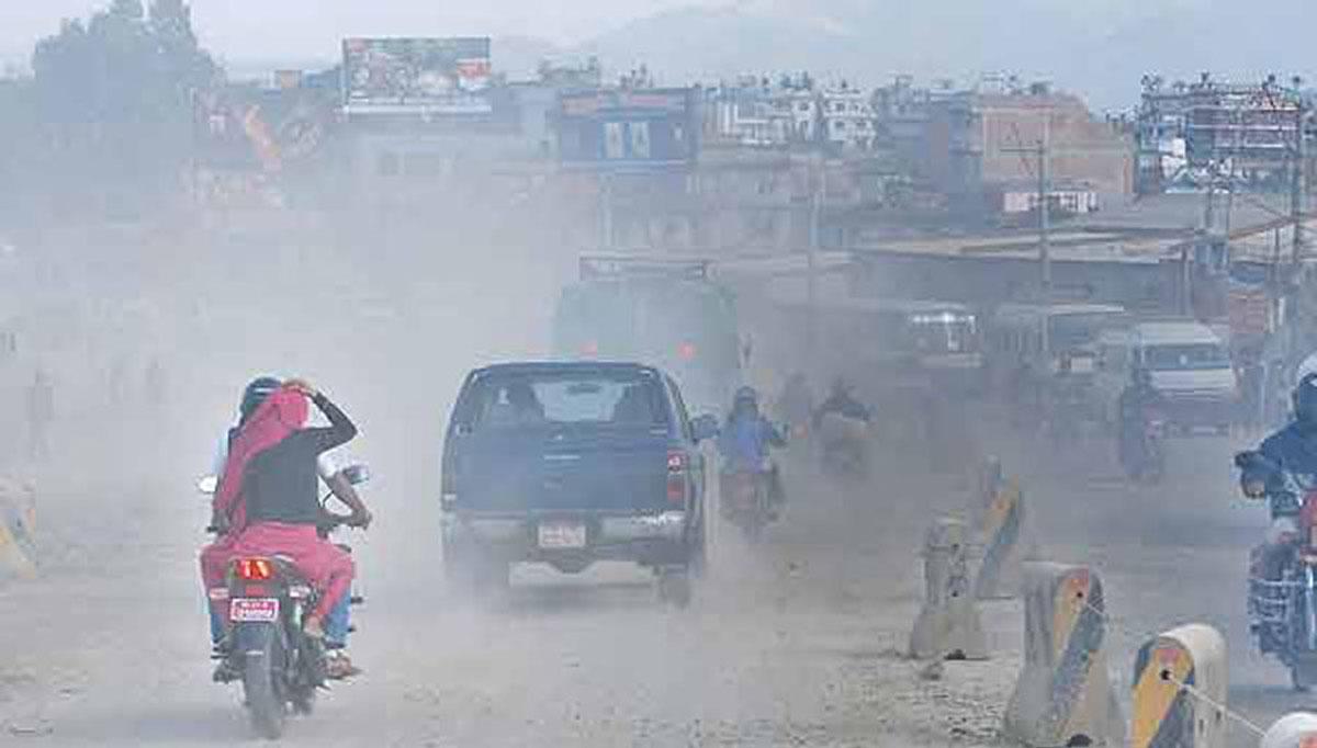 वायु प्रदुषणका कारण नेपालमा हरेक वर्ष १० हजारको मृत्यु, ३४ लाख दमका बिरामी