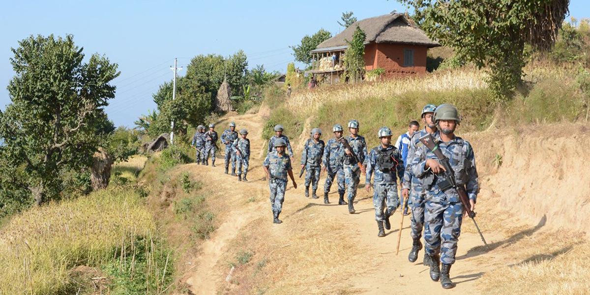 चीन-भारत सीमा क्षेत्रका ११२ नयाँ पोस्टमा खटिँदै सशस्त्र प्रहरी