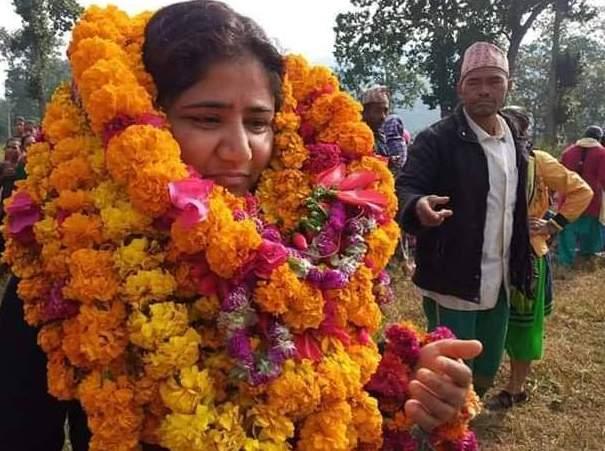 दाङमा नेकपाकी विमला वली विजयी
