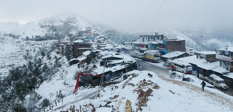 देशभरको मौसम : उच्च हिमाली क्षेत्रमा हिमपात, ताल तथा खोलाको पानी जम्यो