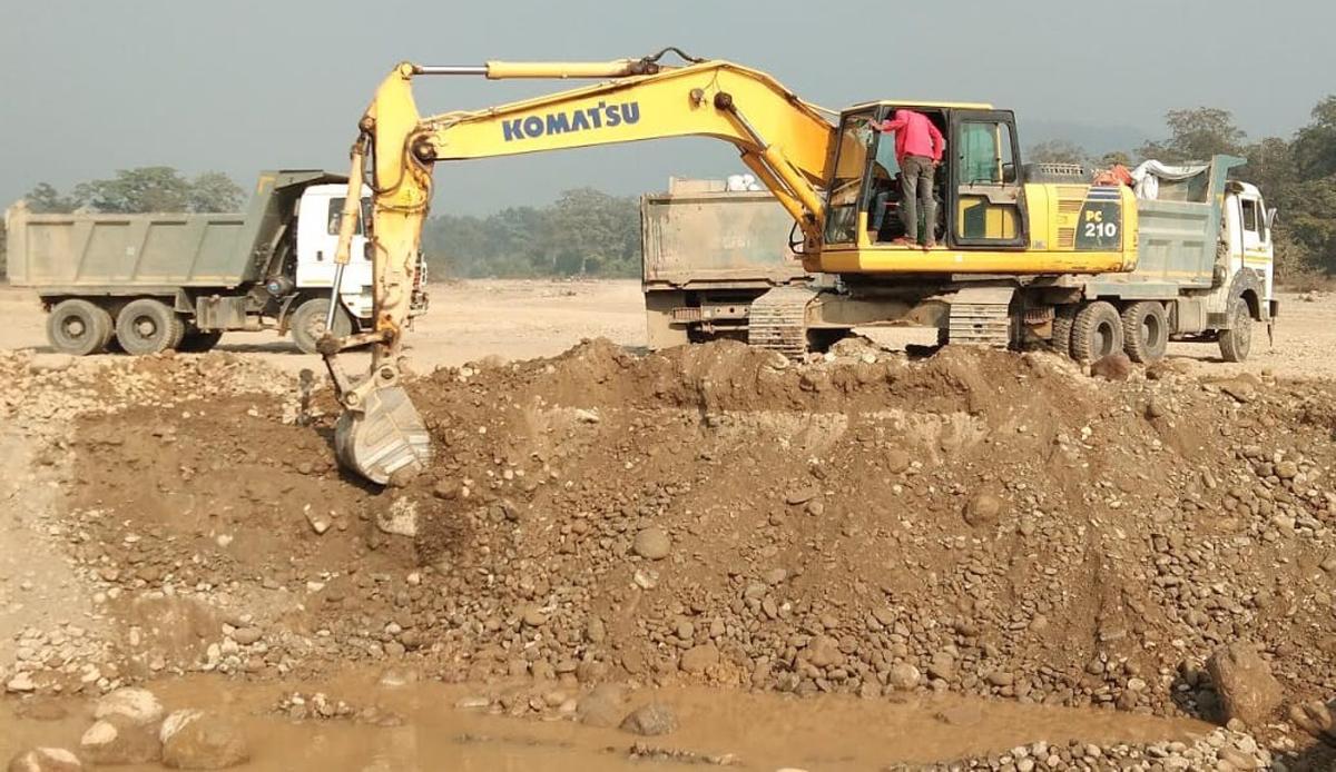 नदीजन्य पदार्थको अभाव हुँदा बाँकेमा पूर्वाधार निर्माणमा समस्या