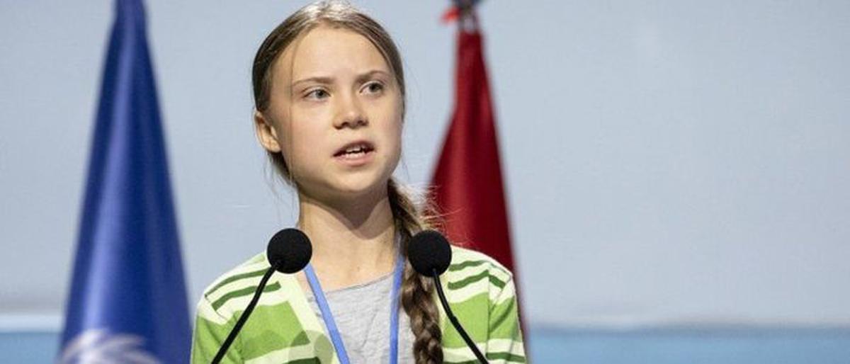 विश्व आन्दोलन हाँक्ने १६ वर्षे किशोरी, 'युवा शक्तिको प्रतीक'