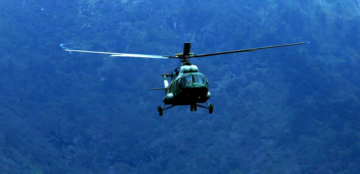 हेलिकप्टरमार्फत सुत्केरीको उद्धार