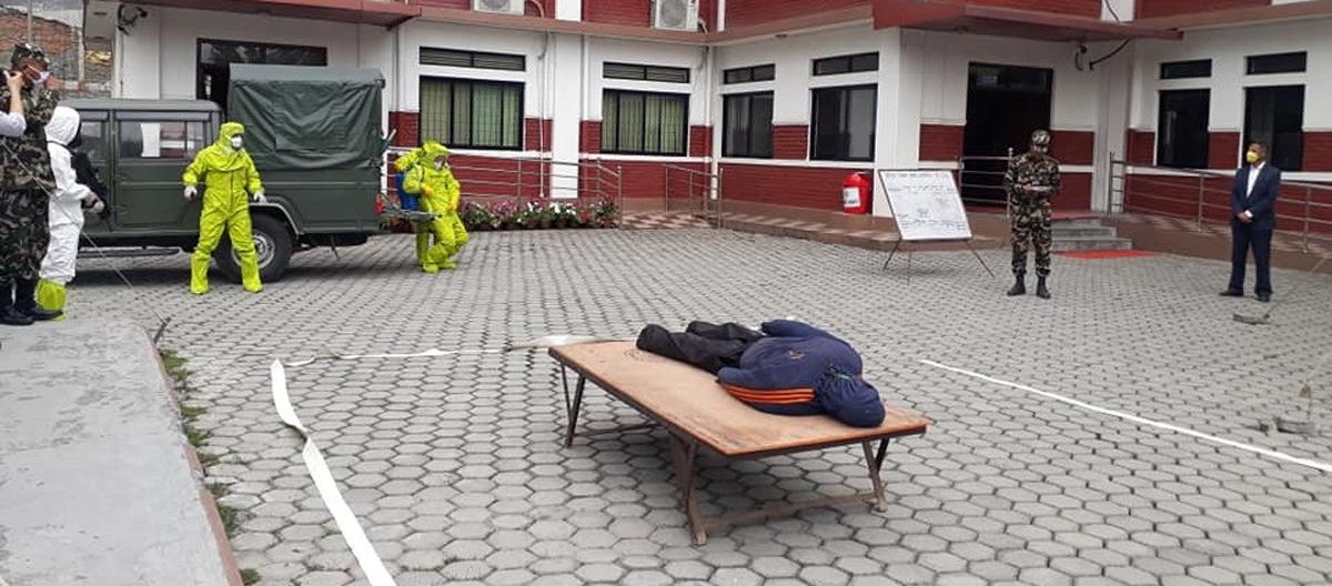 क्वारेन्टाइनमा बसेका बृद्धको मृत्यु