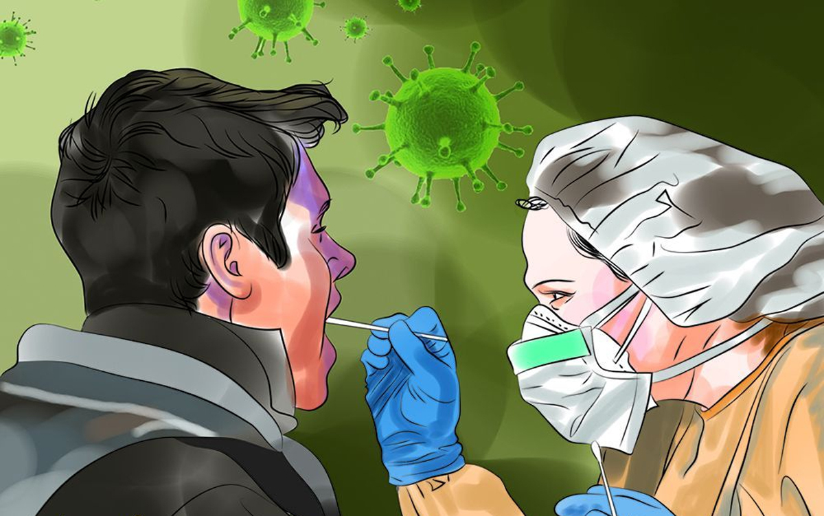 कोरोना संक्रमितको संख्या करोड नजिक