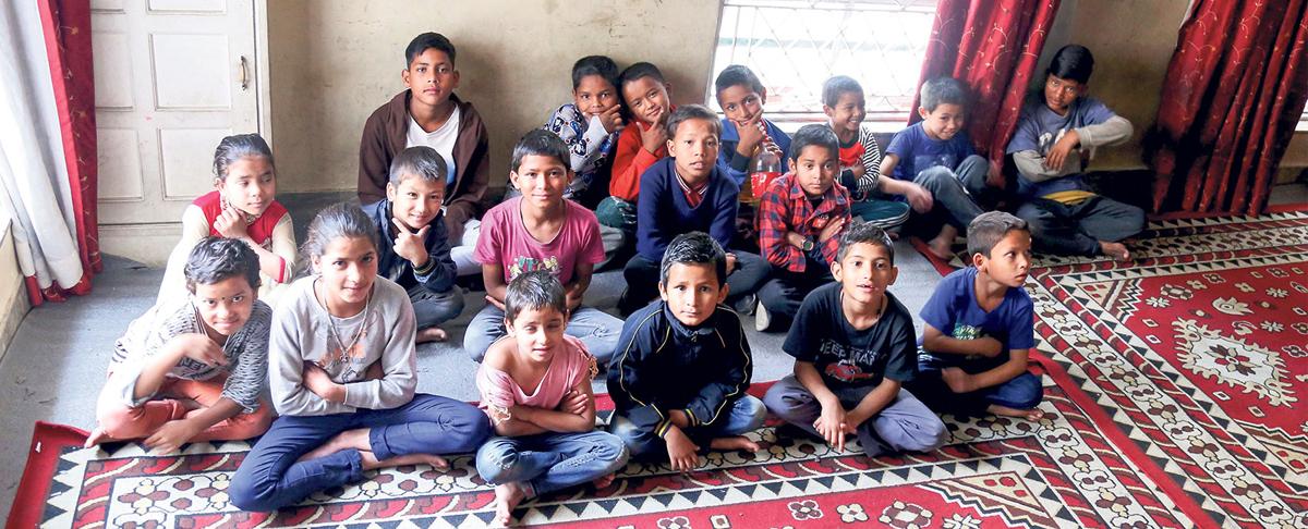 पाँच वर्षमुनिका ४७२ बालबालिका क्वारेन्टिनमा