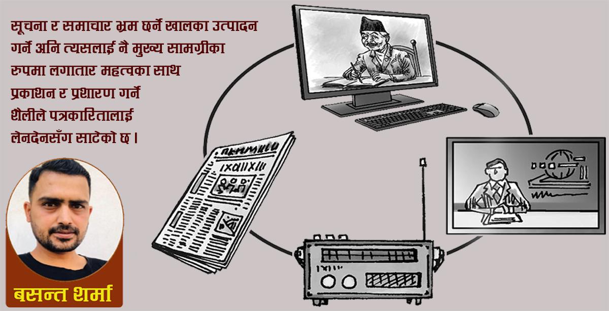 'मुर्छित मीडियामा सक्रिय राजनीतिक आस्था'