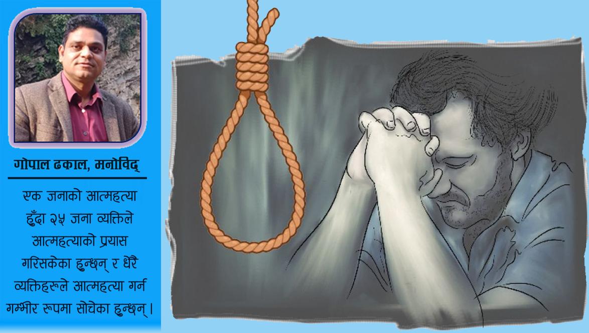 बढ्दैछ आत्महत्याको जोखिम