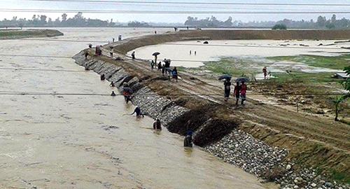 बबई नदीले बगाउँदा थारु दम्पती बेपत्ता