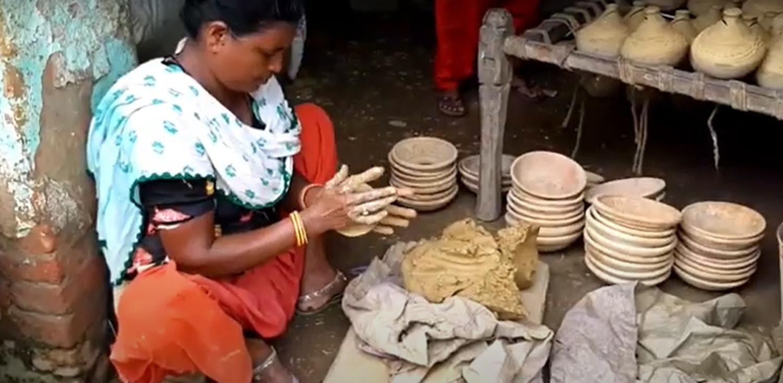 माटोमा प्राण भर्ने महिलाहरूको कथा (भिडियोमा)