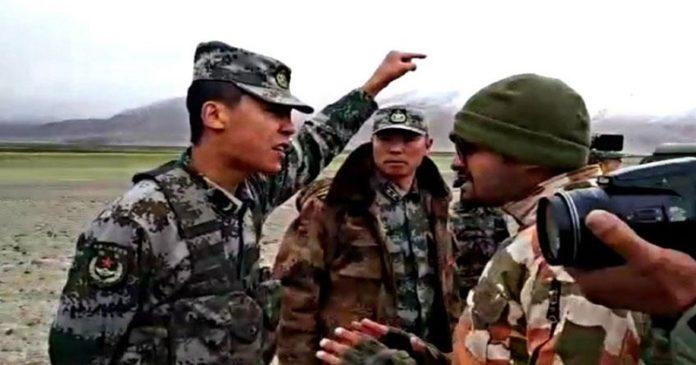 लद्दाख नजिकका १० स्थान चिनियाँ सेनाको नियन्त्रणमा