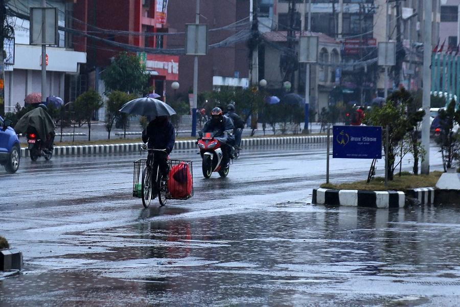 मनसुन अझै केही दिन रहने, यस्तो छ आइतबारसम्मको वर्षा अनुमान