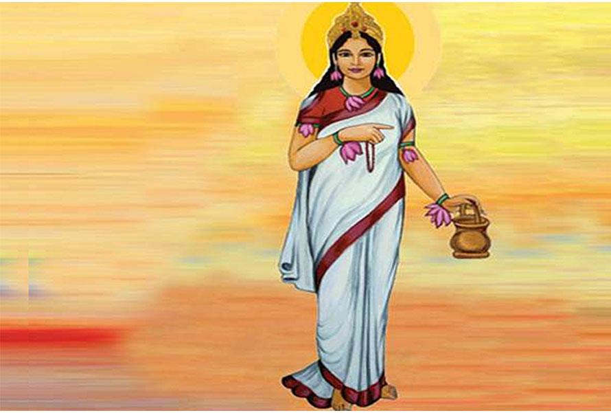 आज बडा दशैंको दोस्रो दिन, ब्रह्मचारिणी माताको पूजा आराधना गरिँदै