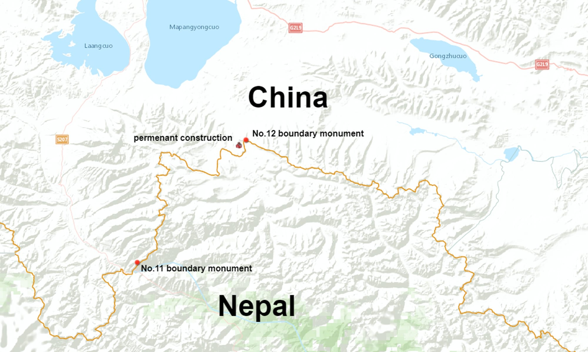 हुम्लामा नेपालको भूमि नमिचिएको चिनियाँ उच्च अधिकारीहरुको दावी
