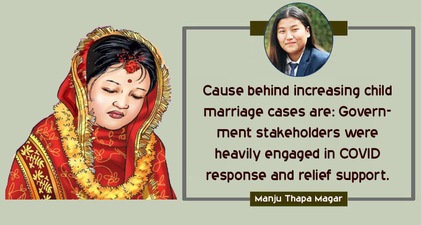 Collaboration Needed to reduce increased cases of child marriage in COVID period.