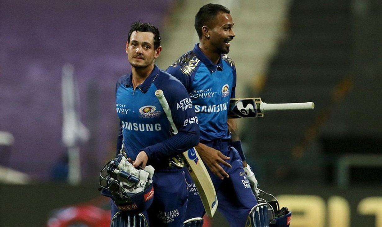 आईपीएलमा मुम्बईको दबदबा, कोलकातालाई ८ विकेटले हरायो
