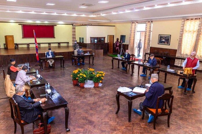 नेकपा सचिवालय बैठक अनिश्चितकालका लागि स्थगित