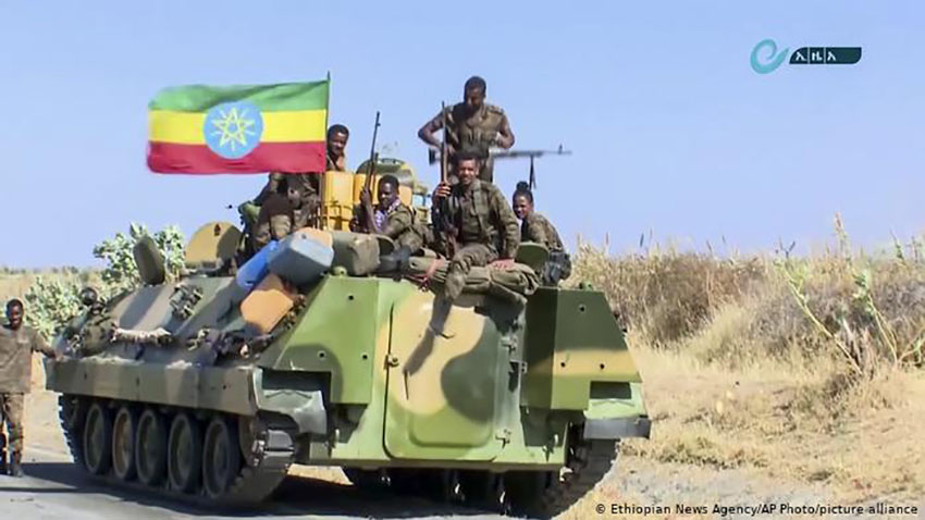 तीन दिनभित्र आत्मसमर्पण गर्न विद्रोहीलाई इथियोपिया सरकारको अल्टिमेटम