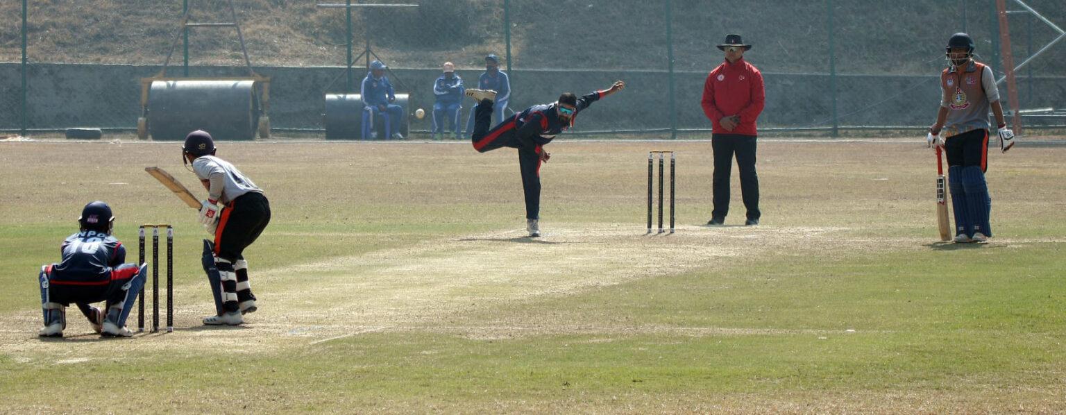 सशस्त्र प्रहरी प्रधानमन्त्री कप क्रिकेटको फाइनल प्रवेश