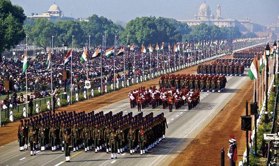 आज भारतको ७२ औं गणतन्त्र दिवस