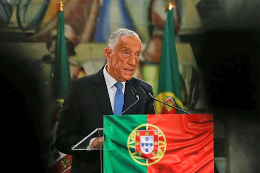 पोर्चुगलका राष्ट्रपति सोउसा दोस्रो कार्यकालका लागि निर्वाचित