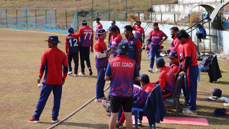 नेपाली राष्ट्रिय क्रिकेट टिमले कतारमा हुने बाइल्याट्रल टी–२० सिरिज खेल्ने