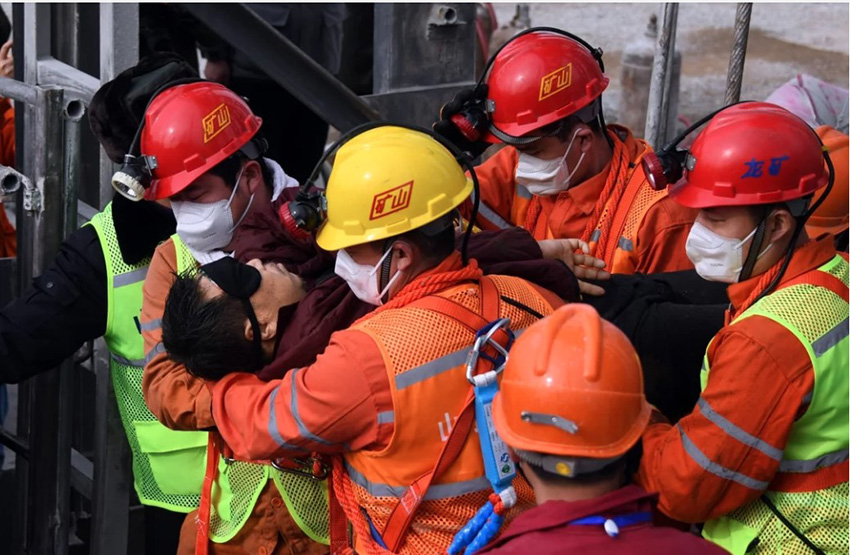 चीनको सुनखानीम दुई हप्ता अघि फसेका १० कामदार मृत भेटिए
