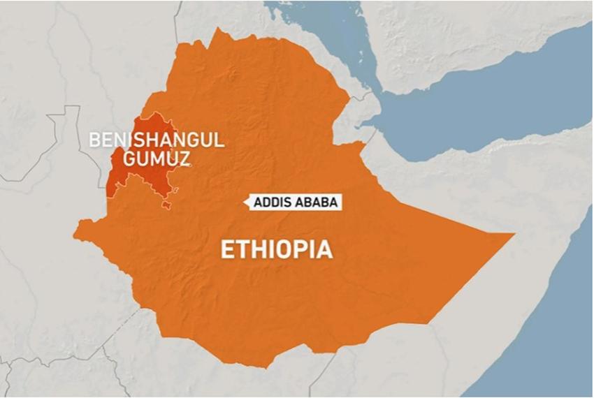 विद्रोहीको आक्रमणमा परेर इथियोपियामा ८० जना बालबालिका र महिलाको मृत्यु