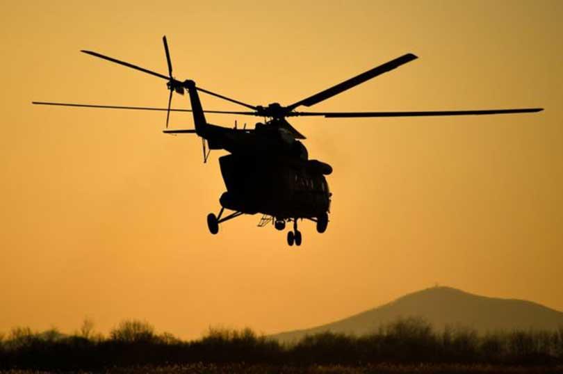क्युवामा सैनिक हेलिकोप्टर दुर्घटना हुँदा पाँचजनाको मृत्यु