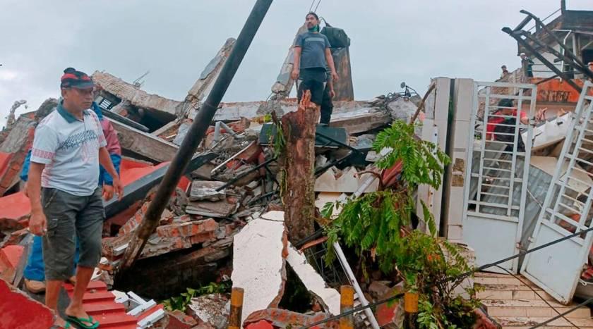 इन्डोनेशियामा भूकम्प : सात जनाको ज्यान गयो