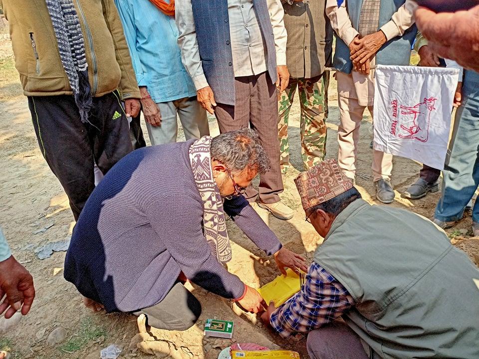 राप्रपा टीकापुर अब आफ्नै भवनमा