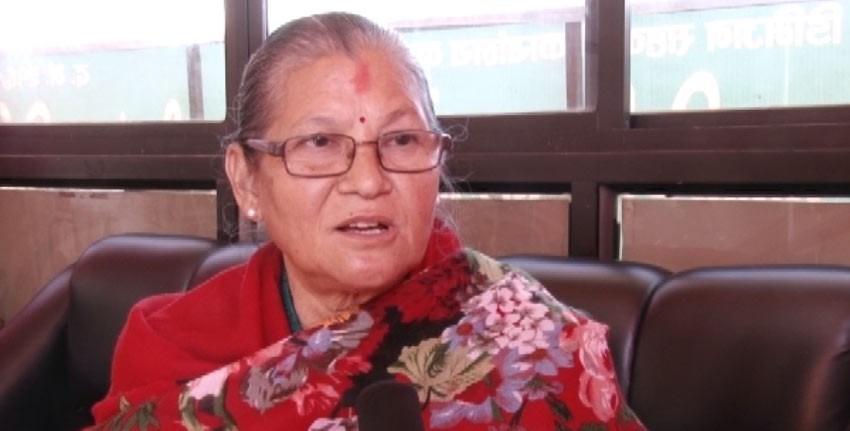नेकपाकी नेतृ अष्टलक्ष्मी शाक्य कंलकीबाट पक्राउ