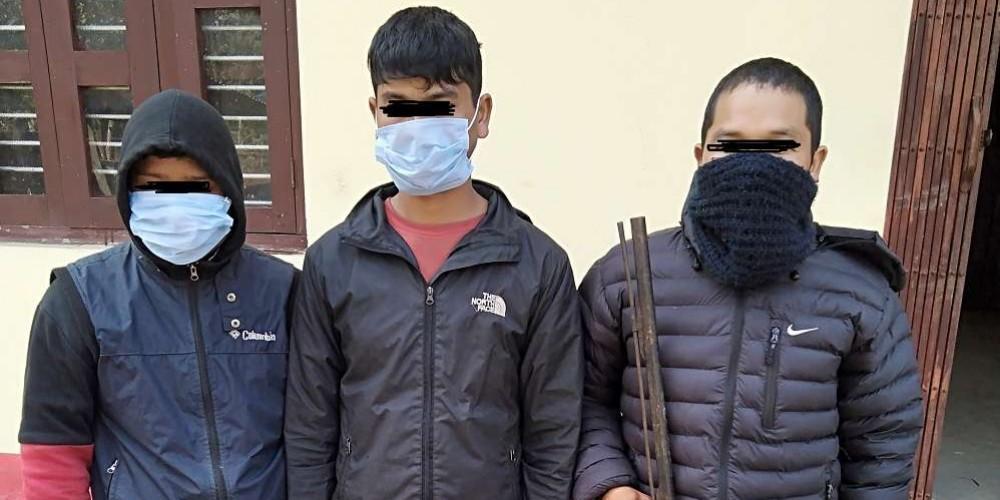 बाँके राष्ट्रिय निकुञ्जमा 'अपरेशन महाहण्ट : हतियारसहित थप तीन पक्राउ