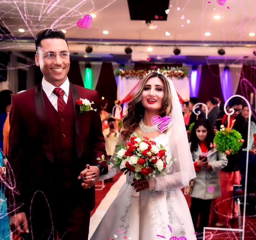 गायिका अन्जु पन्तले गरिन् दोस्रो विवाह