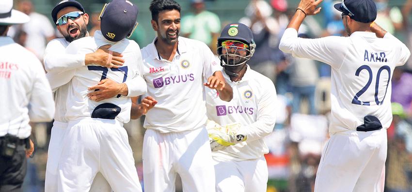 इंग्ल्यान्डविरुद्धको तेस्रो टेस्टमा भारतको सानदार जित