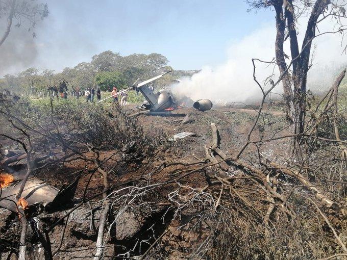 मेक्सिकोमा सैन्य विमान दुर्घटना हुँदा ६ जनाको मृत्यु