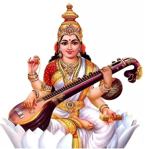विद्याकी देवी सरस्वतीको पूजाआजा गरेर श्रीपञ्चमी पर्व मनाइँदै