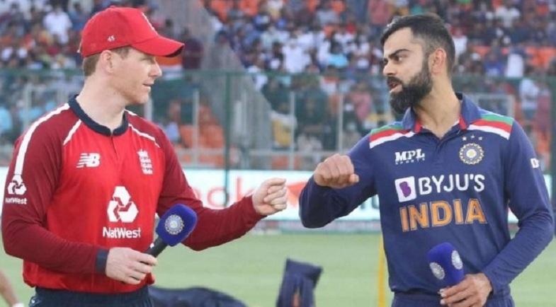 भारत र इङ्ग्ल्याण्डबीचको पाँचौं टी-ट्वान्टी क्रिकेट आज