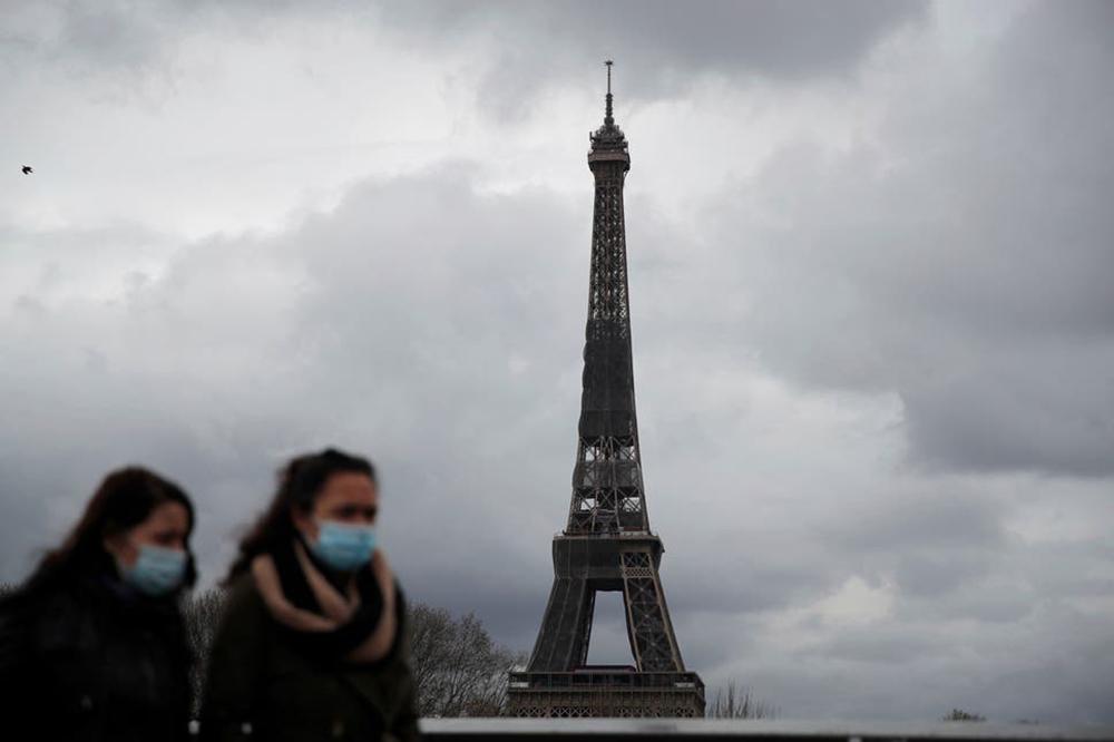 फ्रान्समा कोरोना महामारीको तेश्रो लहर देखिएपछि पुनः लडकडाउन