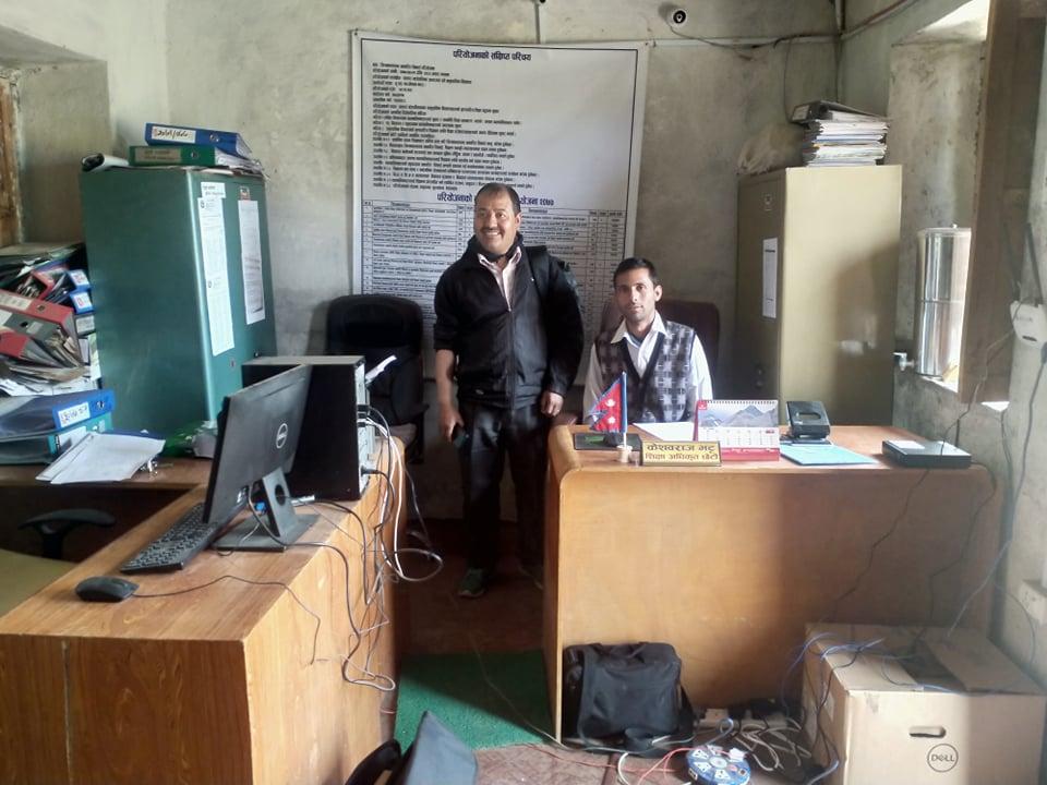 बझाङका १२ वटै स्थानीय तहको शिक्षा शाखामा ई–लाइब्रेरी जडान