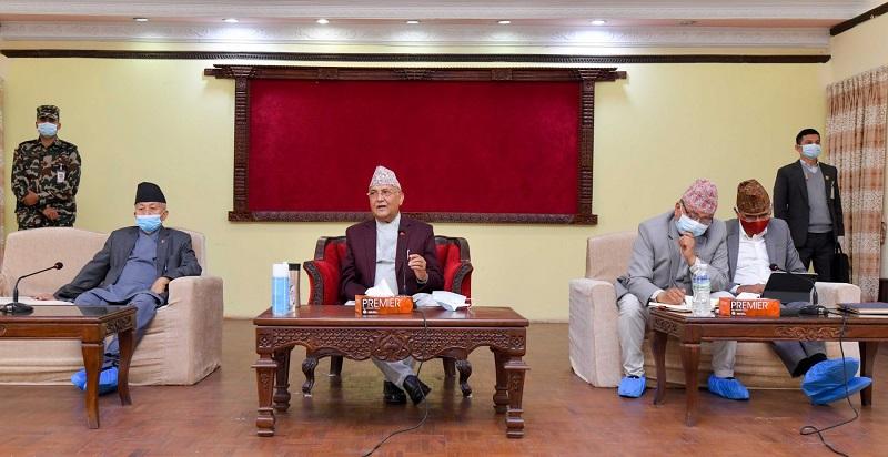 नेकपा एमालेको केन्द्रीय कमिटी बैठक आज बस्दै, नेपाल-खनाल समूह नजाने