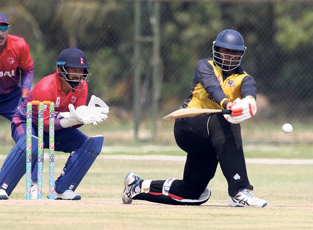 त्रिकोणात्मक क्रिकेटमा आज नेपाल र मलेसिया भिड्ने