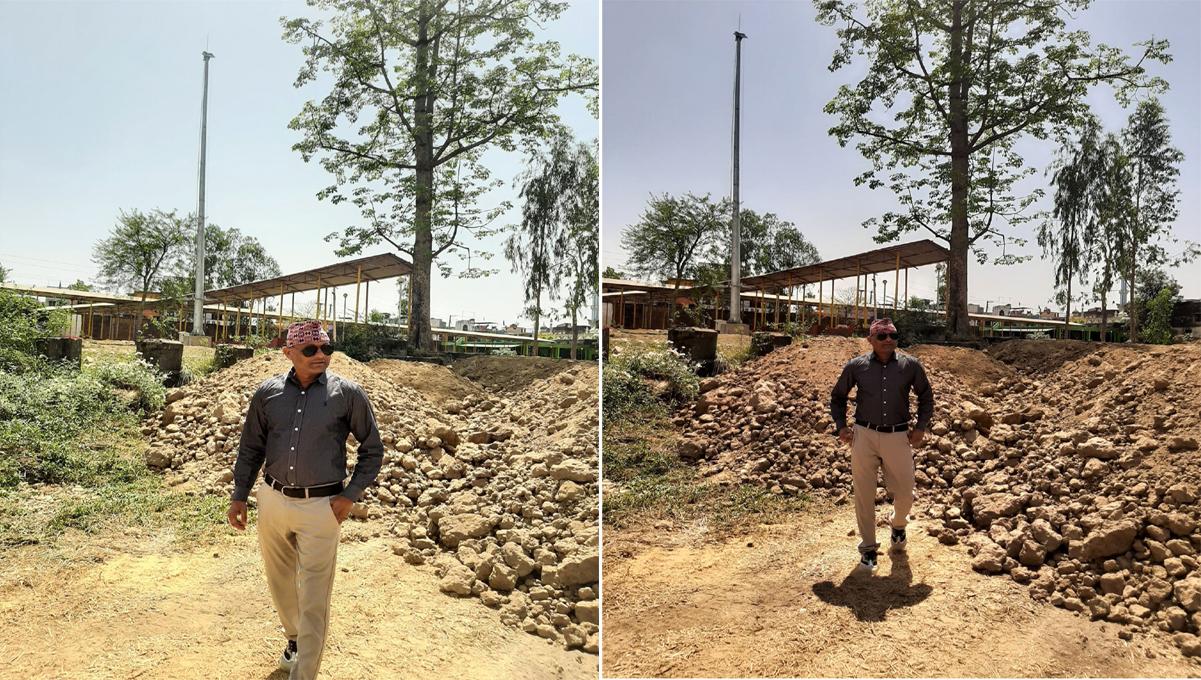 माटो पटान गरेपछि व्यवस्थित बन्दै कब्रिस्तान, जोडिँदै हाइमास्ट