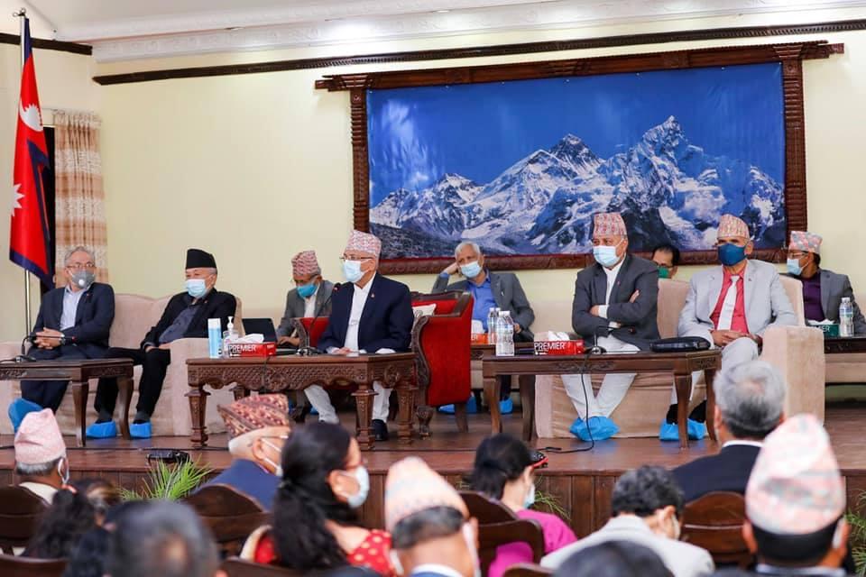 एमालेले नेपाल समूहका सांसदलाई तत्काल कारबाही नगर्ने